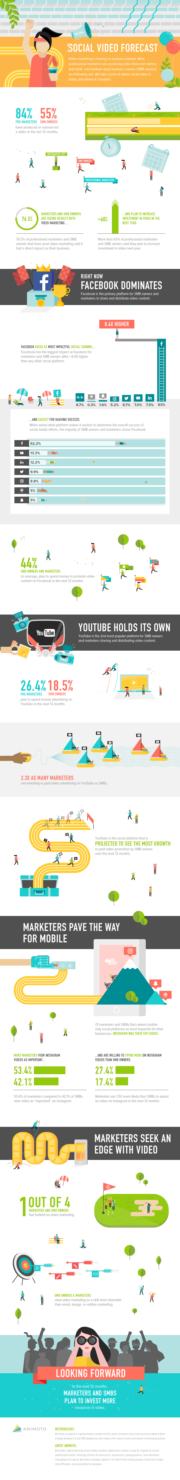 Social Video Infographic