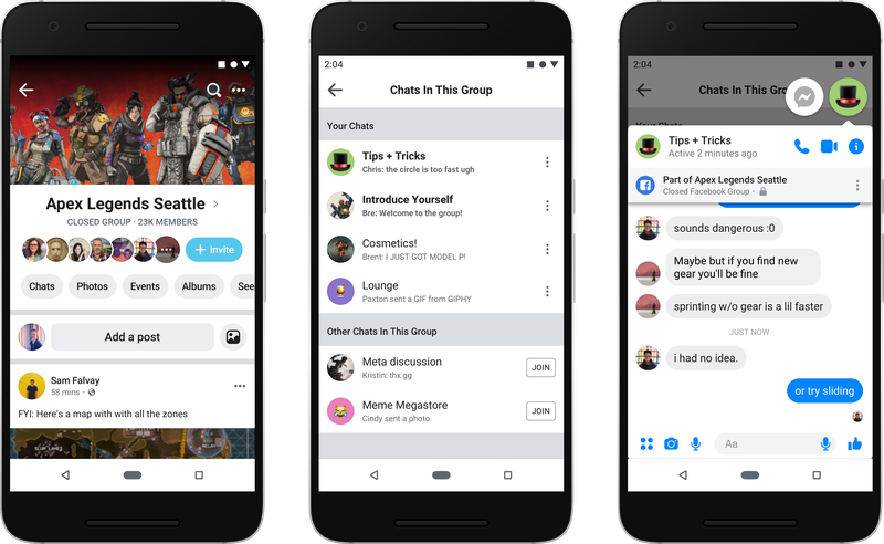 Facebook Prioritise Groups F8 2019